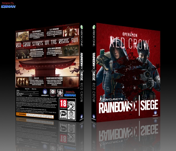 Tom Clancy's Rainbow Six: Siege box art cover