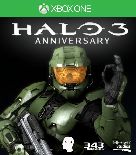 Halo 3 Anniversary Xbox One Box Art Cover By Citrus