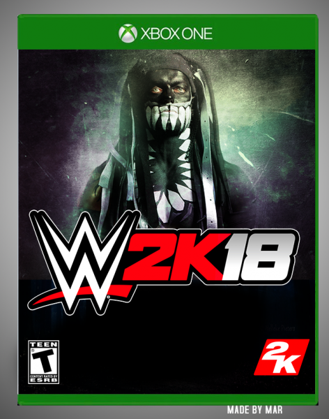 WWE 2K18 box cover