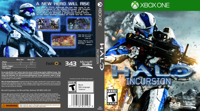 Halo: Incursion box art cover