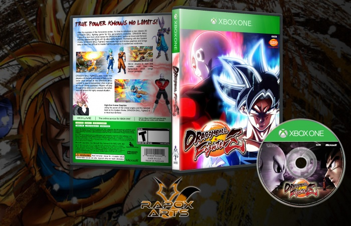 Dragon Ball Fighter Z box art cover