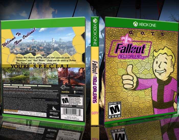 Fallout: New Orleans box art cover