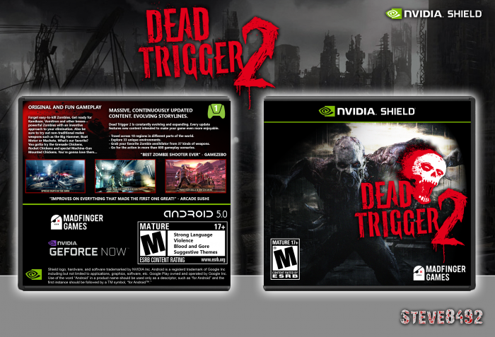 Dead Trigger 2 box art cover