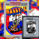 Rally-X (7800) Box Art Cover