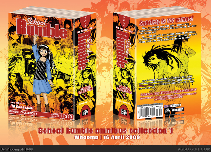 School Rumble Omnibus Collection 1 box art cover