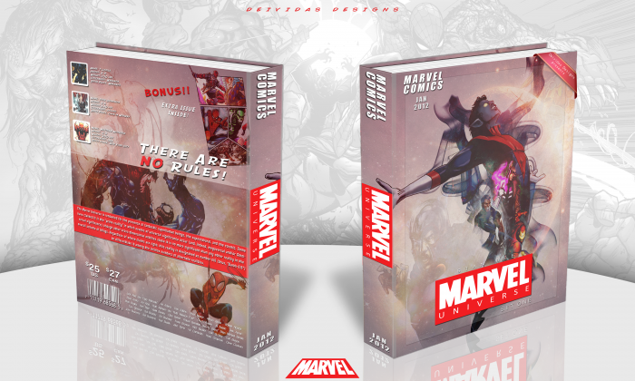 Marvel Universe Comic: Set One box art cover