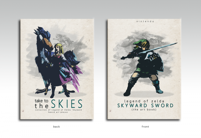 The Legend of Zelda: Skyward Sword Art Book box art cover