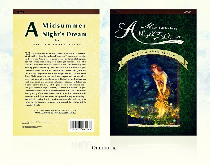 A Midsummer Night's Dream box art cover