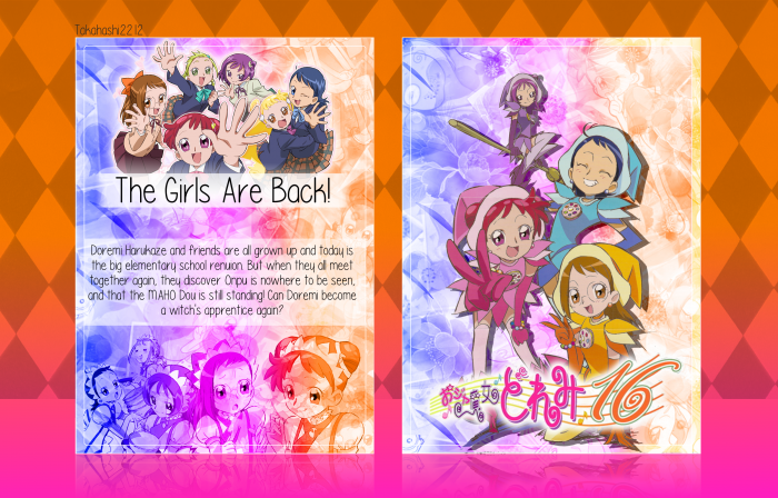 Ojamajo DoReMi 16 box art cover