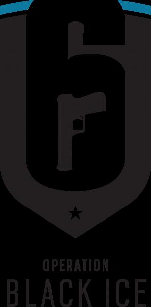 tom clancys rainbow six siege black ice logo