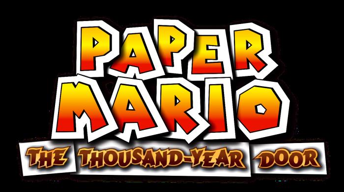 Paper mario the thousand year door logo for 1000 year door