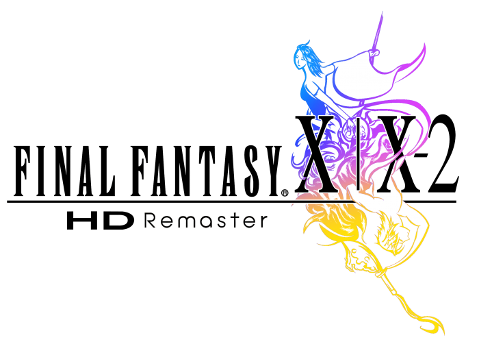 logo final fantasy x x2 hd remaster
