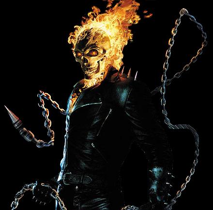 Ghost Rider Render