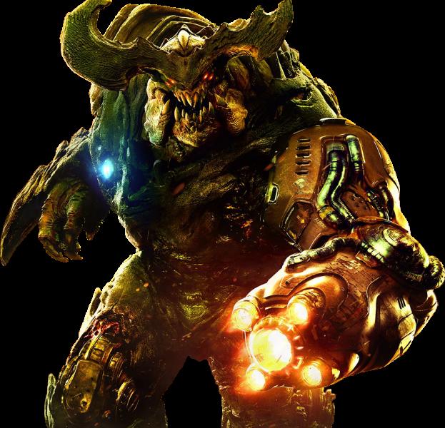Doom 2016 Render
