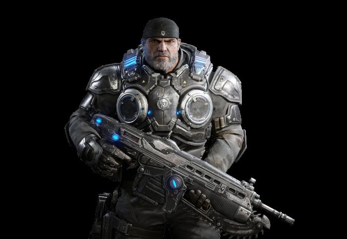 Gears Of War 4 Render