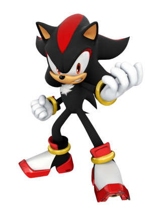 Shadow the hedgehog render - Sonic et shadow ...
