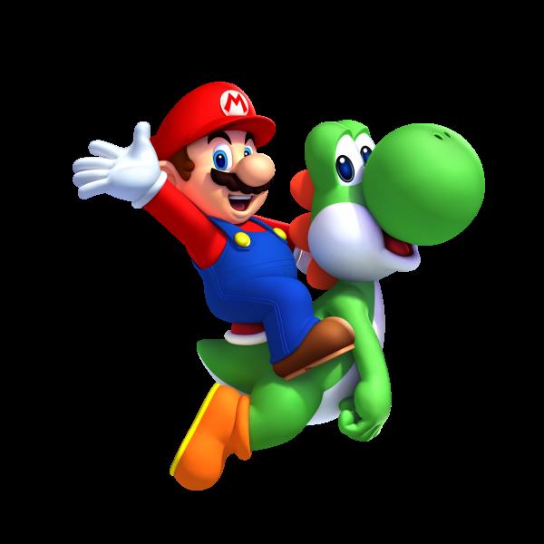 New Super Mario Bros. U Render
