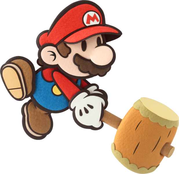 Paper Mario leaked from 4chan (take with grain of salt) - Super