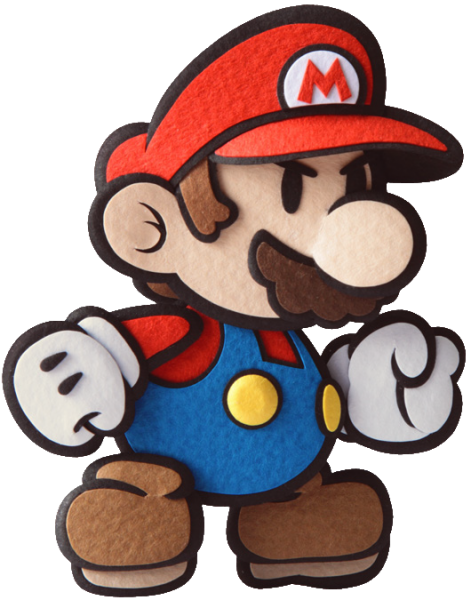 Paper Mario Sticker Star Render