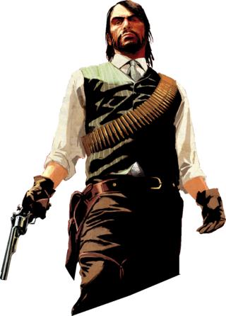 Red Dead Redemption Render