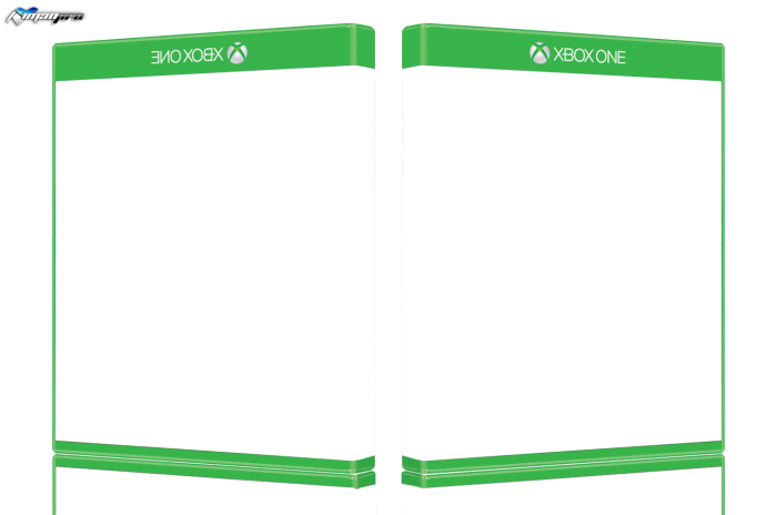 xbox one new 3d template template