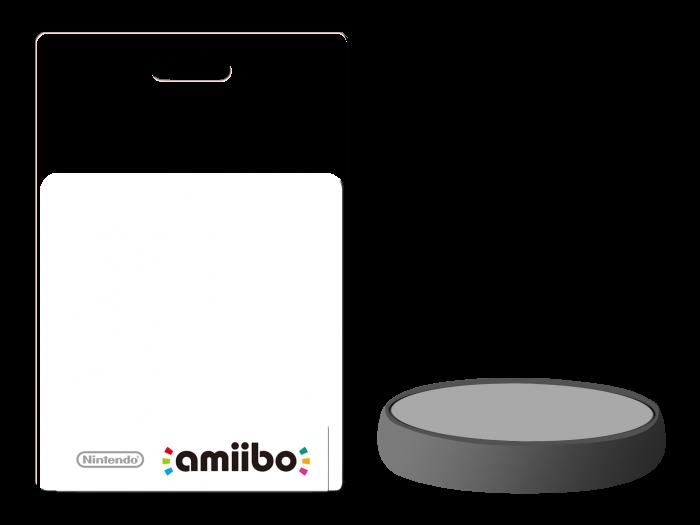 Amiibo Package Figurine Template