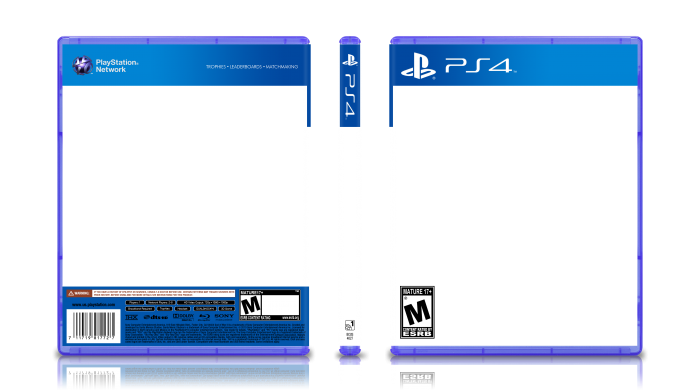 Ps4 Game Case Template