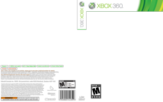 Xbox 360 template Xbox 360 Game Cover Size