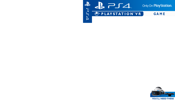 playstation 4  vr template