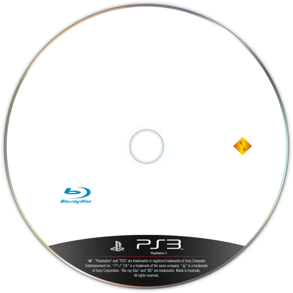 PlayStation 3 Disc template