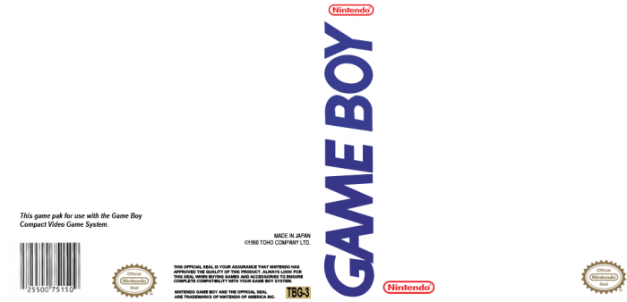 gameboy template