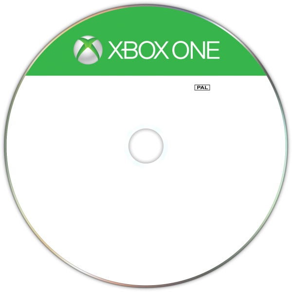 XBOX ONE DISC template