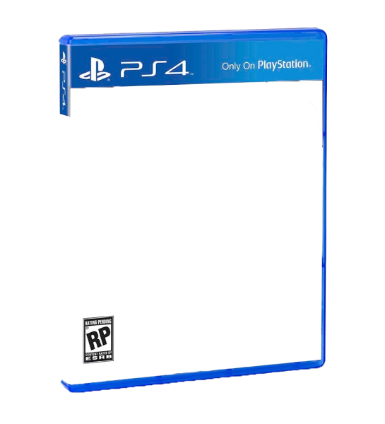 ps4 front cover template