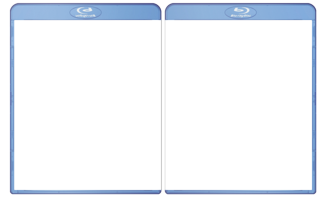 BluRay Case template