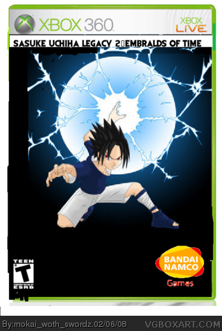 Sasuke Legacy 2: Embralds of Goradox box cover