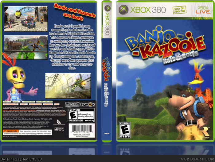 Try These Banjo Kazooie Nuts And Bolts Xbox 360 {Mahindra