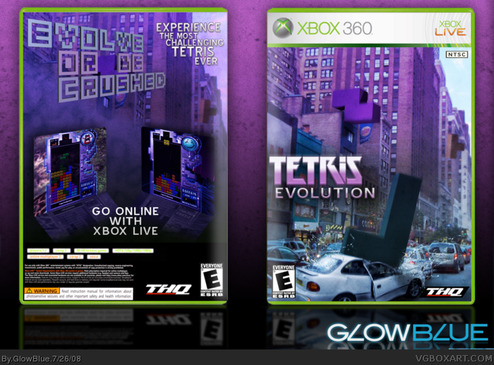 Tetris Evolution box art cover