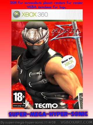 Ninja Gaiden Sigma Xbox 360 Box Art Cover By Super Mega Hyper Sonic