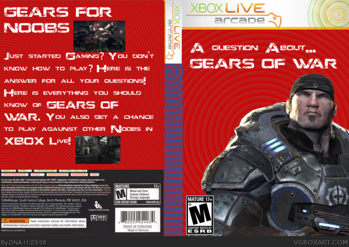 A question About... Gears of War box art cover
