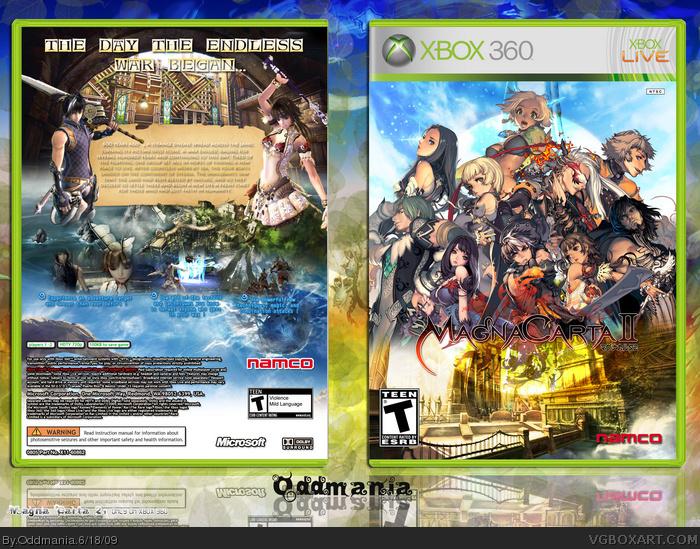 Magna Carta 2 Xbox 360 Box Art Cover by Oddmania