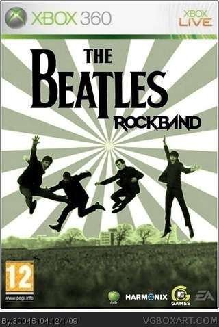 The Beatles: Rock Band Xbox 360 Box Art Cover by 30045104