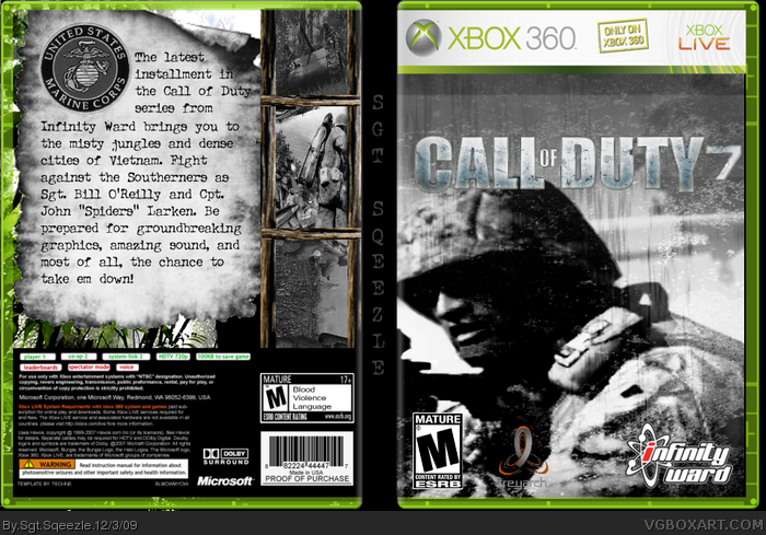 Call of Duty 7 box art cover