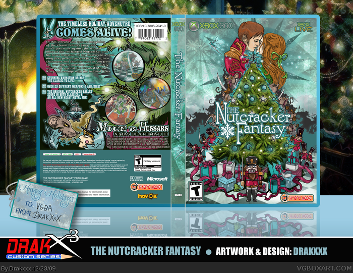 The Nutcracker Fantasy box art cover