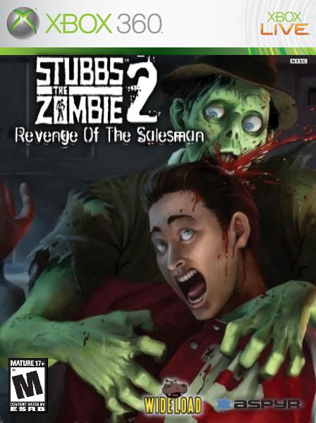stubbs the zombie 2 revenge of the salesman xbox 360 box