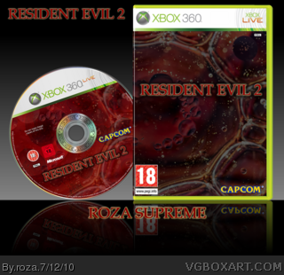Resident Evil 2 Xbox 360 Box Art Cover by roza