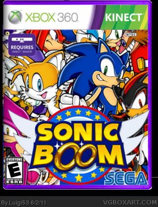 Sonic Boom Xbox 360 Box Art Cover By Luigi53