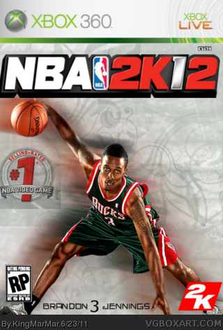 NBA 2k12 box cover