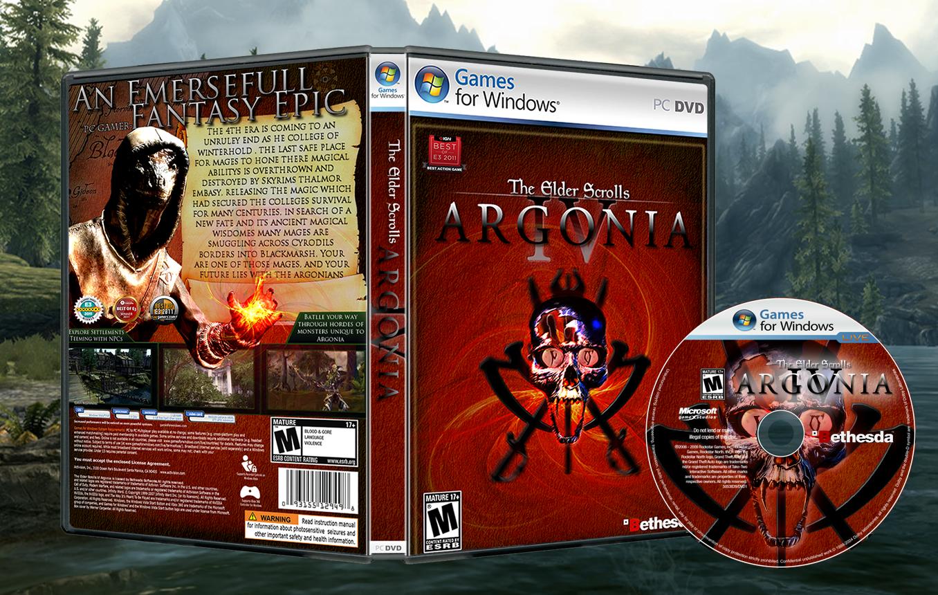 The Elder Scrolls Vi Argonia Xbox 360 Box Art Cover By