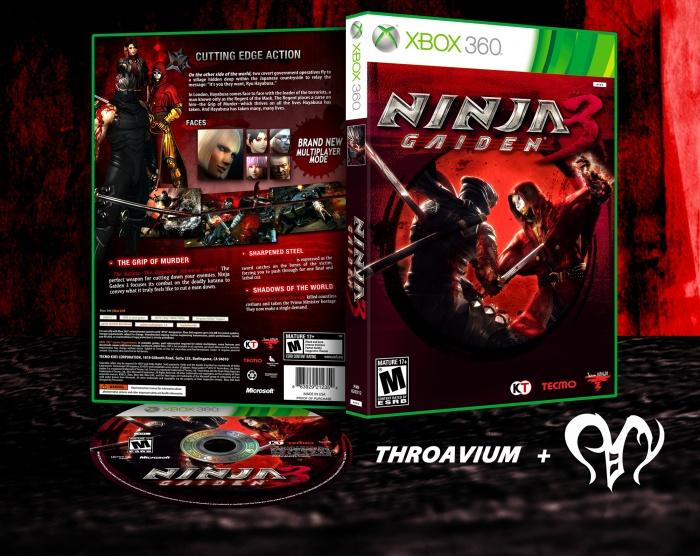 Ninja Gaiden 3 Xbox 360 Box Art Cover By Panvium