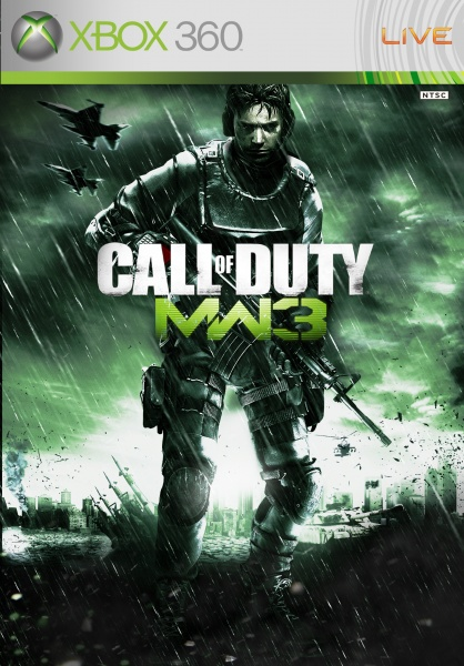 Call Of Duty Modern Warfare 3 Xbox 360 Box Art Cover By Simplewig